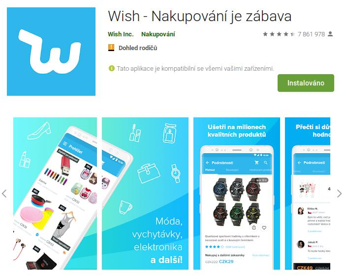 Aplikace s jedním připojením